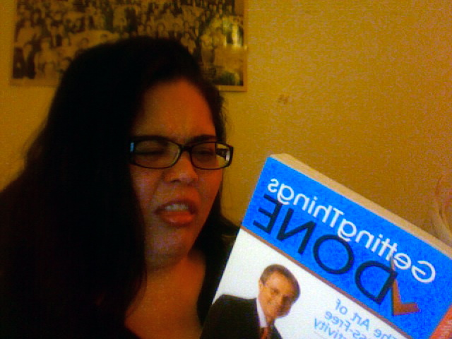 "my reaction to the book ""Getting Things Done"""